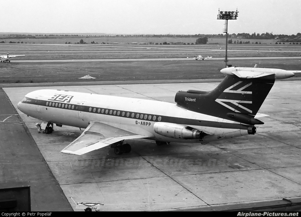 BEA - British European Airways G-ARPP aircraft at Prague - Václav Havel