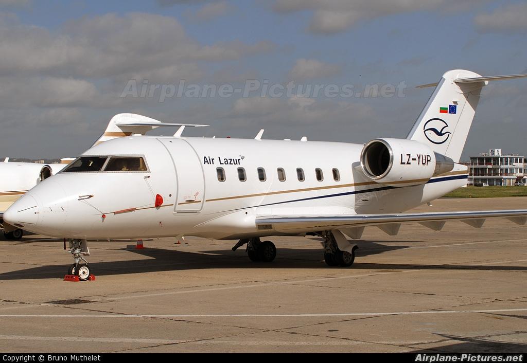Air Lazur LZ-YUP aircraft at Paris - Le Bourget