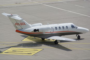 PH-SOL - Solid Air Cessna 525 CitationJet