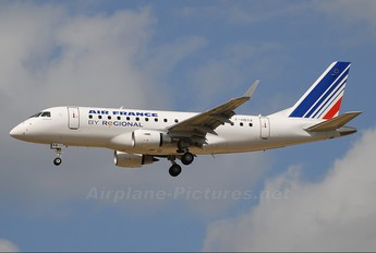 F-HBXA - Air France - Regional Embraer ERJ-170 (170-100)