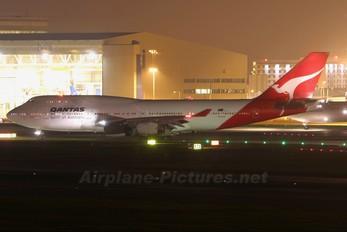 VH-OJR - QANTAS Boeing 747-400