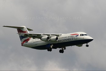 G-BZAY - British Airways - Connect British Aerospace BAe 146-300/Avro RJ100