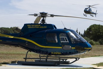 F-HMER - Heli Securite Helicopter Airline Aerospatiale AS350 Ecureuil / Squirrel