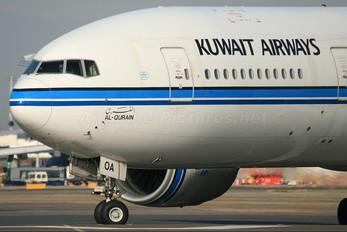 9K-AOA - Kuwait Airways Boeing 777-200ER