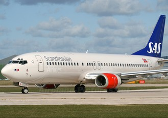 LN-BRQ - SAS - Scandinavian Airlines Boeing 737-400