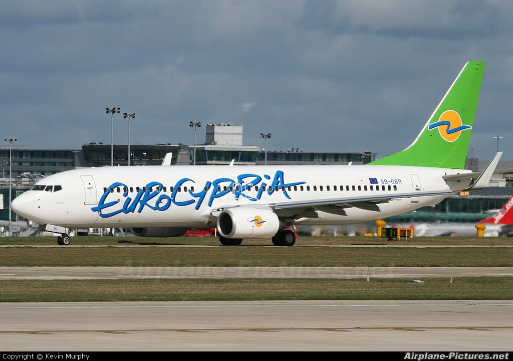 Eurocypria Airlines 5B-DBR aircraft at Manchester
