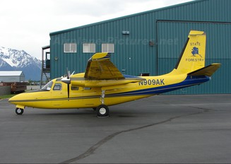 N909AK - Alaska Forestry Department Aero Commander 500