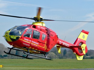 G-WMAS - Midlands Air Ambulance Eurocopter EC135 (all models)