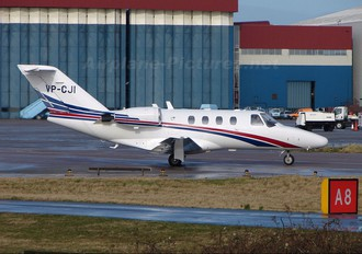 VP-CJI - Private Cessna 525 CitationJet