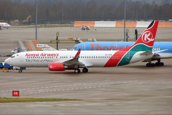 5Y-KYE - Kenya Airways Boeing 737-800