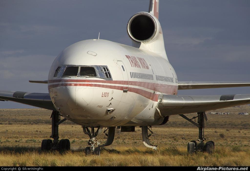 TWA N31023 aircraft at Kingman