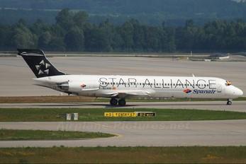EC-KHA - Spanair McDonnell Douglas MD-87