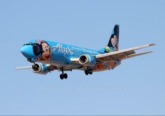 N784AS - Alaska Airlines Boeing 737-400