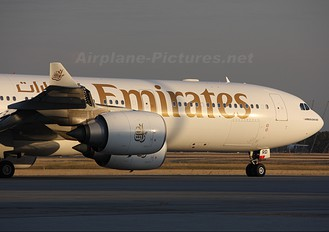 A6-ERD - Emirates Airlines Airbus A340-500