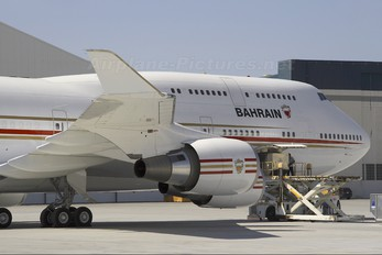 A9C-HMK - Bahrain Amiri Flight Boeing 747-400