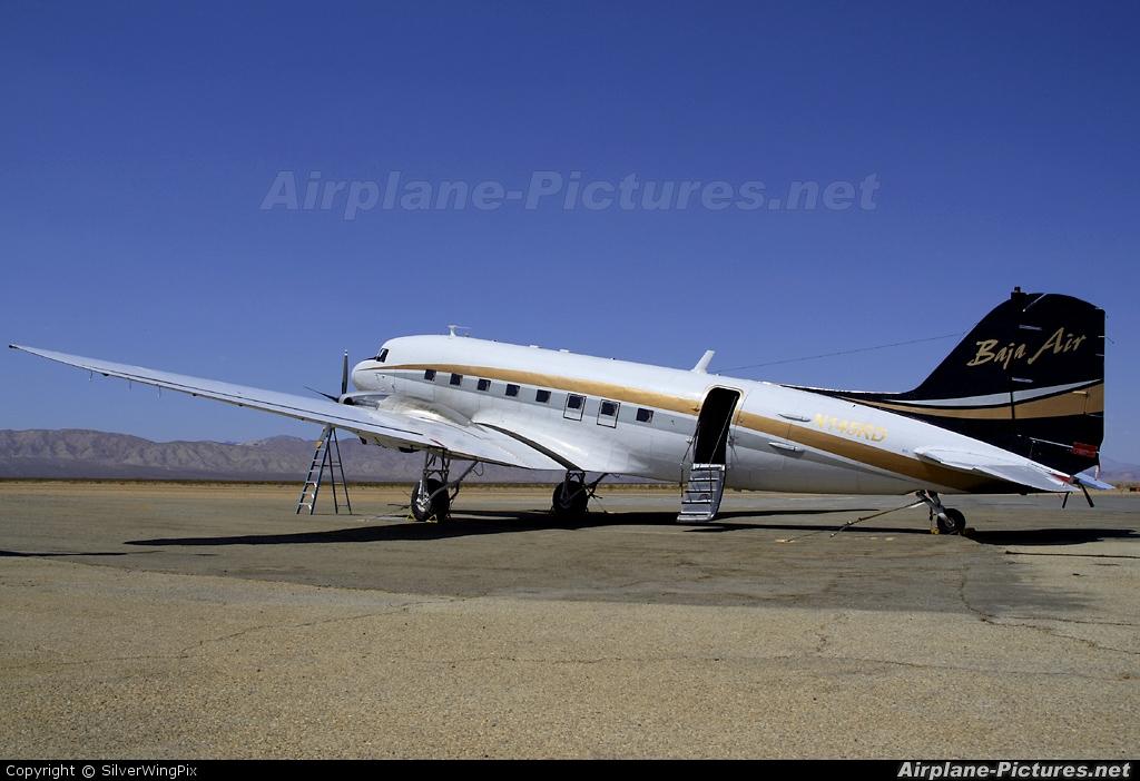 Baja Air N145RD aircraft at California City