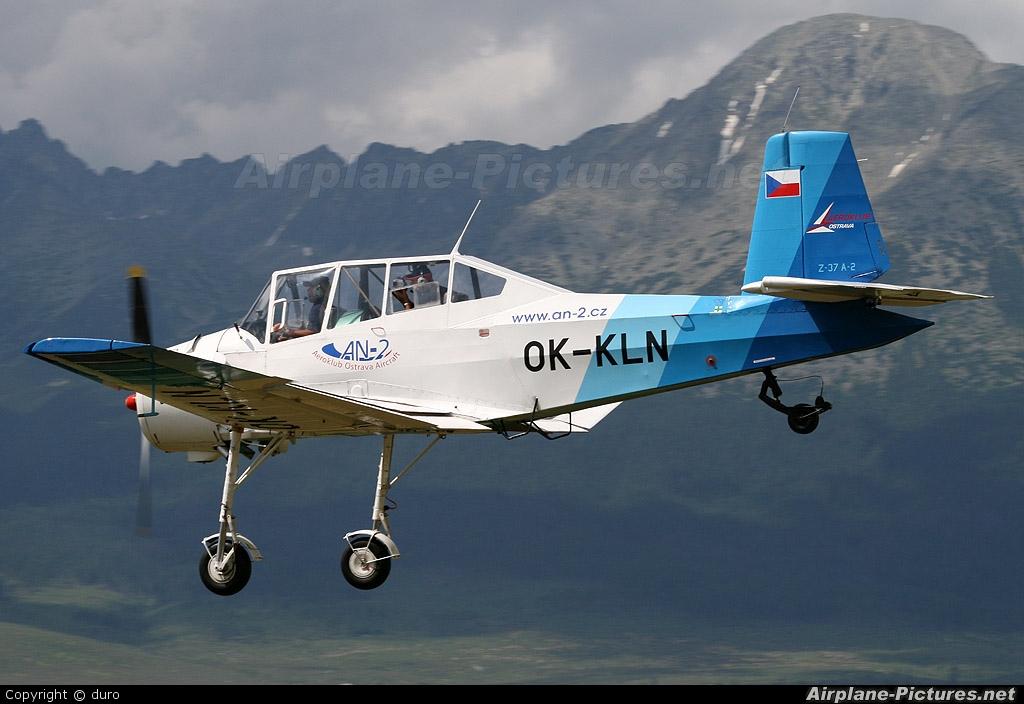 Aeroklub Ostrava OK-KLN aircraft at Poprad - Tatry