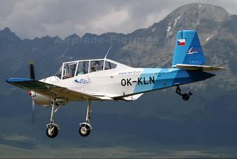 OK-KLN - Aeroklub Ostrava Zlín Aircraft Z-37A Čmelák