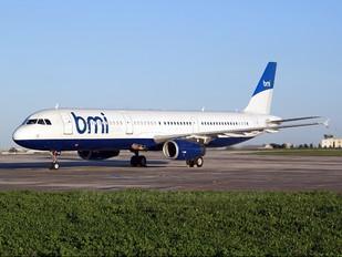 G-MEDM - BMI British Midland Airbus A321