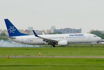 EC-JHV - Futura International Airways Boeing 737-800