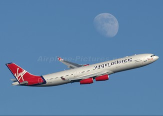 G-VSEA - Virgin Atlantic Airbus A340-300
