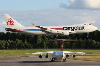 LX-GCV - Cargolux Boeing 747-400F, ERF