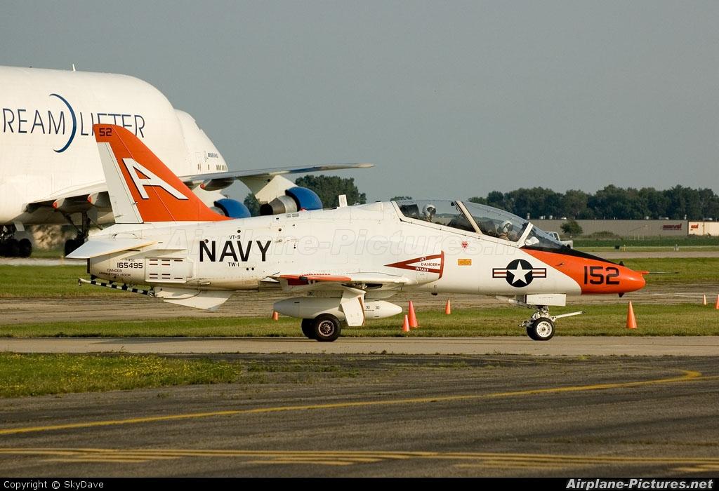 USA - Navy 165455 aircraft at Oshkosh - Wittman Regional