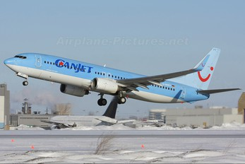 D-AHFT - CanJet Airlines Boeing 737-800