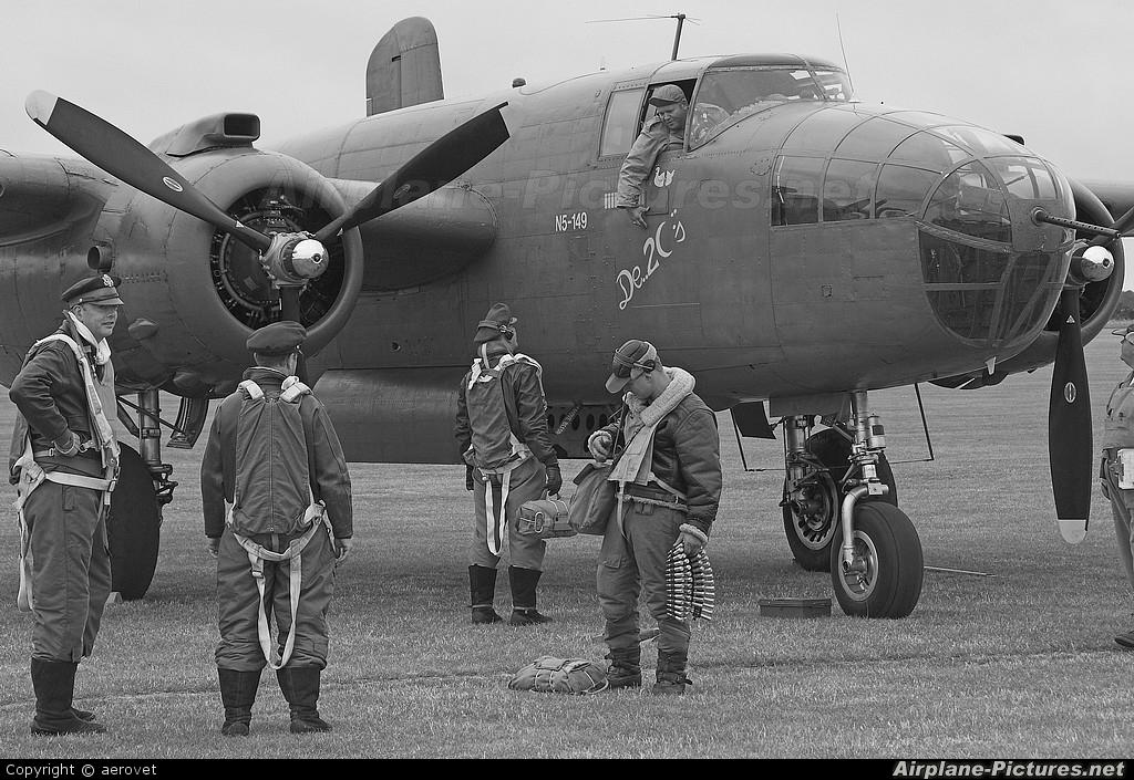"Netherlands - Air Force ""Historic Flight"" PH-XXV aircraft at Duxford"