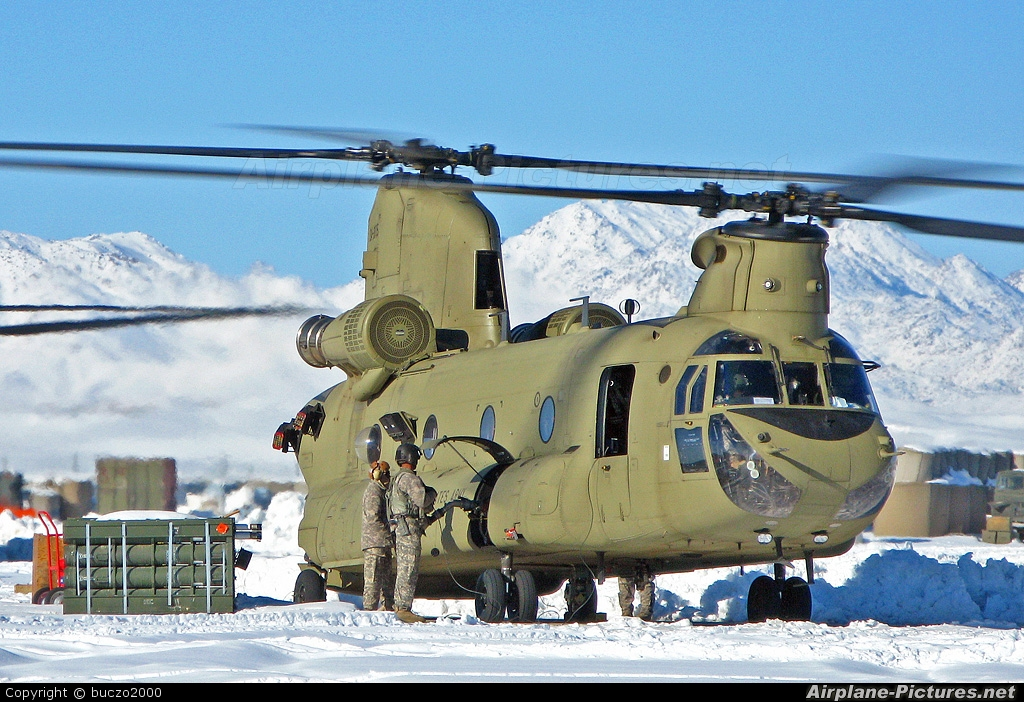 USA - Army - aircraft at Off Airport - Afghanistan