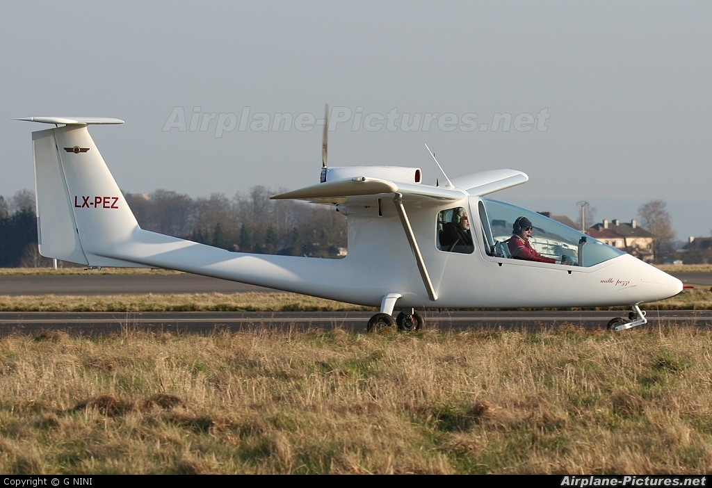 Private LX-PEZ aircraft at Luxembourg - Findel