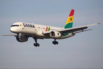 G-STRZ - Ghana International Airlines Boeing 757-200