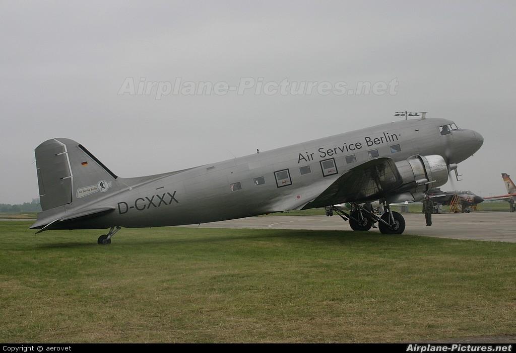 Air Service Berlin D-CXXX aircraft at Berlin - Schönefeld