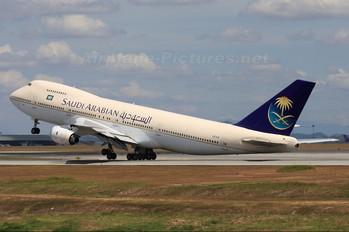 HZ-AIB - Saudi Arabian Airlines Boeing 747-100