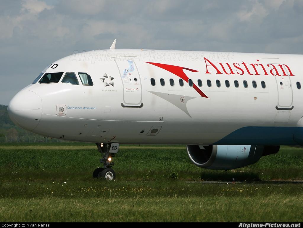Austrian Airlines/Arrows/Tyrolean OE-LBD aircraft at Tarbes / Lourdes - Ossun