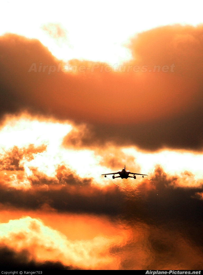 Royal Air Force ZD748 aircraft at Lossiemouth