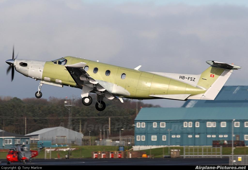 Private HB-FSZ aircraft at Prestwick