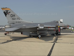 86-0262 - USA - Air Force General Dynamics F-16C Fighting Falcon