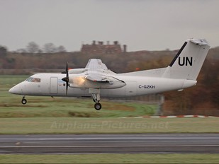 C-GZKH - United Nations de Havilland Canada DHC-8-100 Dash 8
