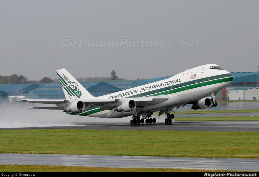 Evergreen International N479EV aircraft at Prestwick