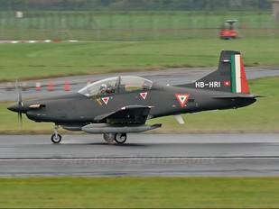 HB-HRI - Mexico - Air Force Pilatus PC-9M