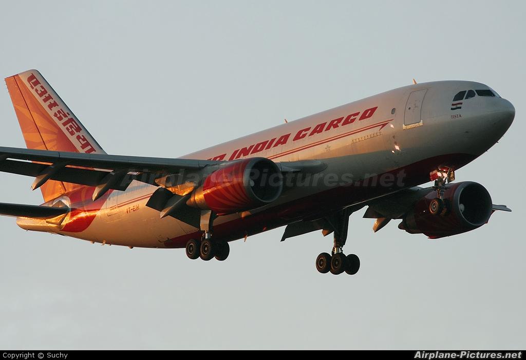 Air India VT-EJH aircraft at Frankfurt