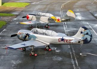 G-YKCT - Private Yakovlev Yak-52