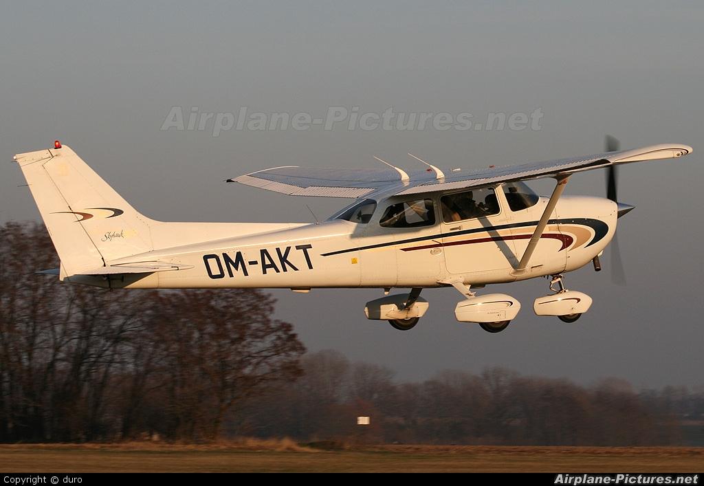 Air Carpatia OM-AKT aircraft at Trnava- Boleráz