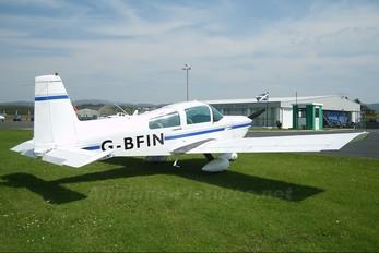 G-BFIN - Prestwick Flight Centre Grumman American AA-5 Traveller
