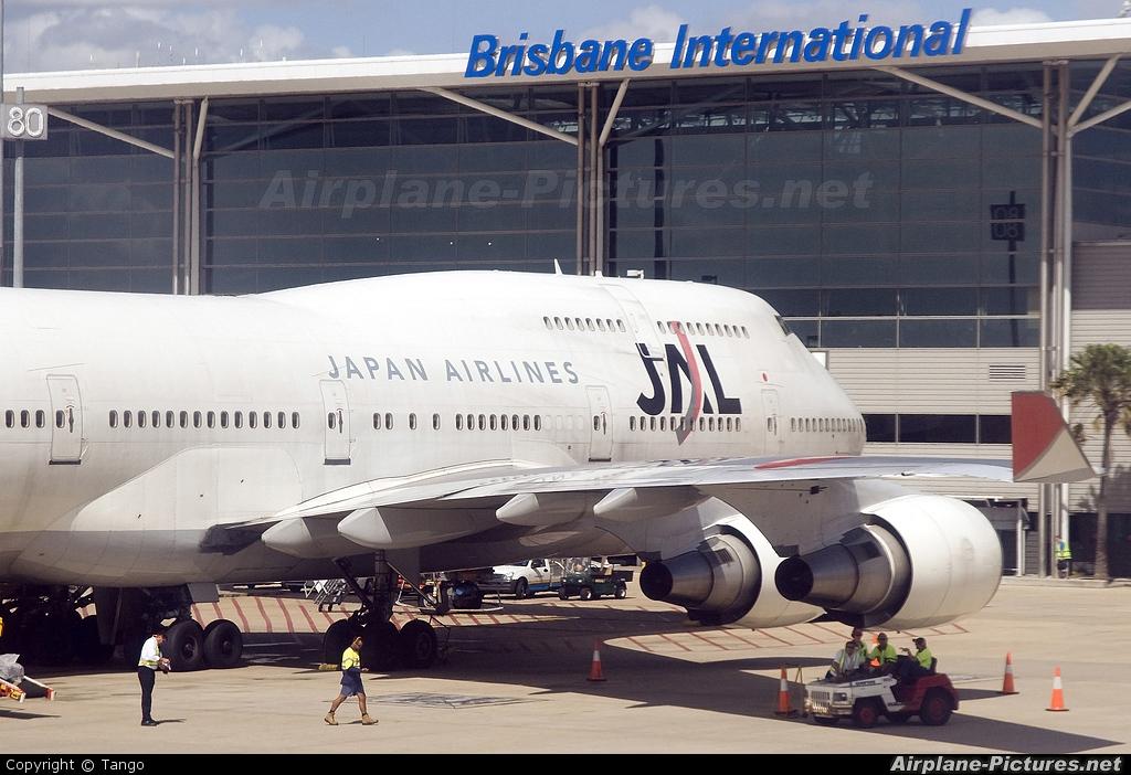 Jal Japan Airlines Boeing Brisbane Qld Photo Id Airplane