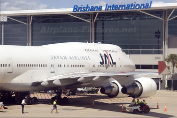 JA8901 - JAL - Japan Airlines Boeing 747-400