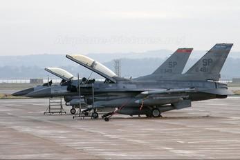 91-0481 - USA - Air Force Lockheed Martin F-16DJ Fighting Falcon