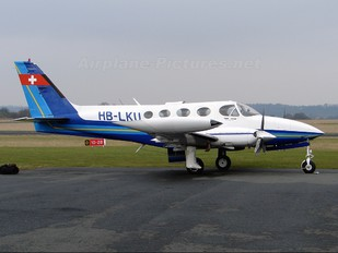 HB-LKU - Private Cessna 340