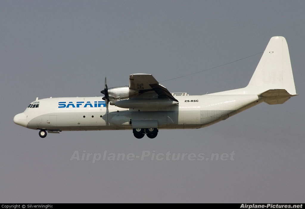 Safair ZS-RSC aircraft at Sharjah Intl